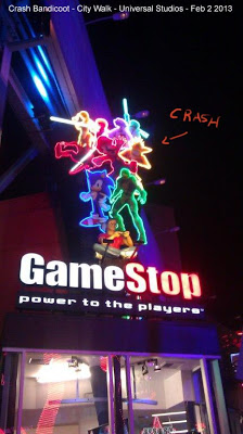 Random Crash appearances: GameStop.. by Charles Zembillas