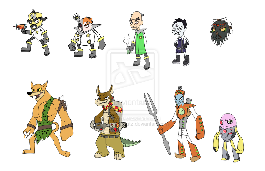 crash characters Crash twinsanity is the 11th installment in the crash bandicoot series, but is is the fifth.