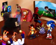 http://lynyen.deviantart.com/art/Commission-Retro-Gaming-472799880