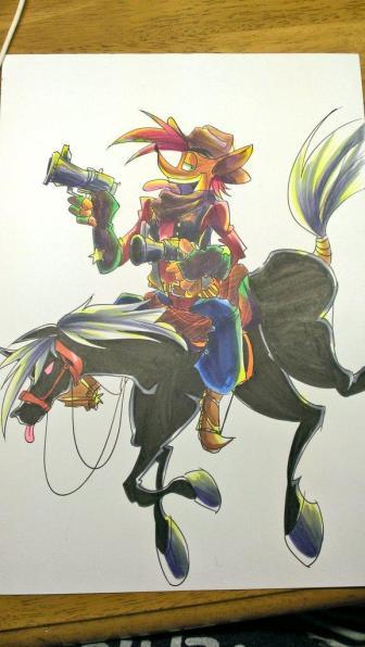 http://ezstrongs.deviantart.com/art/cowboy-crash-474776384