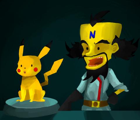 http://loukho.tumblr.com/post/95456980151/pikachus-origins-pikachuuuuuuuuuuuu