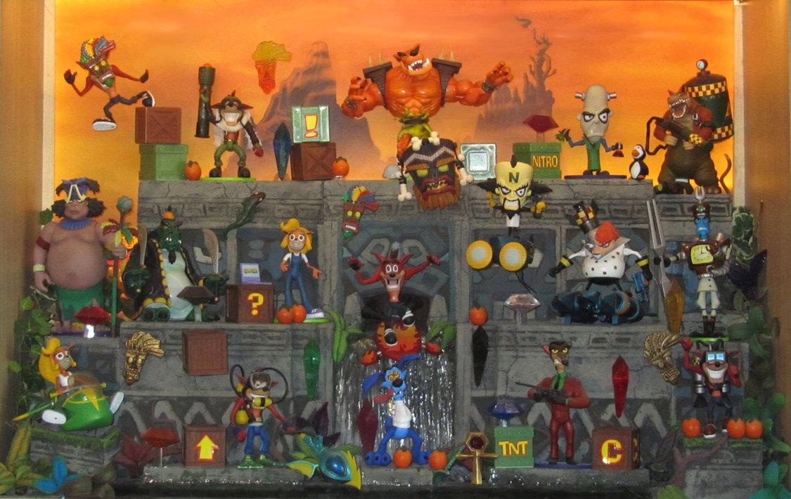 Crash Bandicoot action...