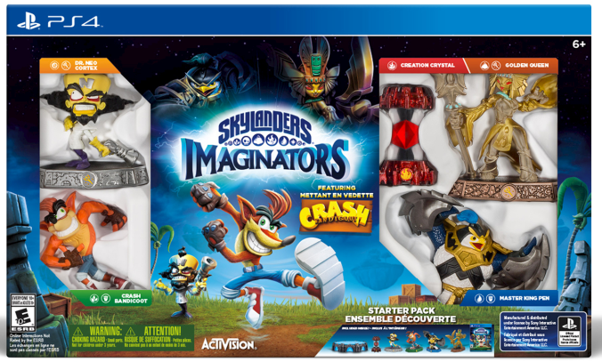 Skylanders Imaginators PS4 Crash Edition Final Box
