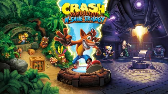 Crash Bandicoot N. Sane Trilogy Hero Image