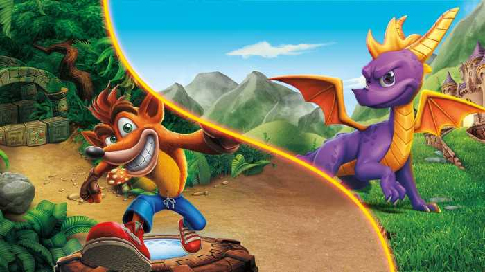 Image result for crash spyro trilogy