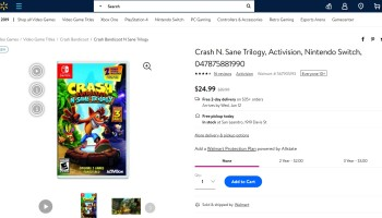 Walmart (Canada): Crash Bandicoot N  Sane Trilogy is $39 96 CAD (PS4