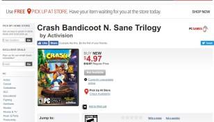 Steam: Crash Bandicoot N  Sane Trilogy for Windows PC is