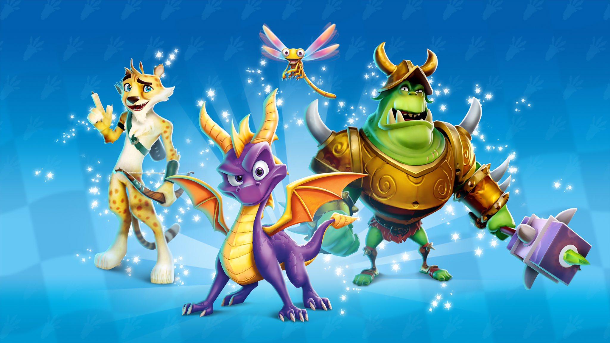 Crash Bandicoot: Spyro & Friends Grand Prix Characters
